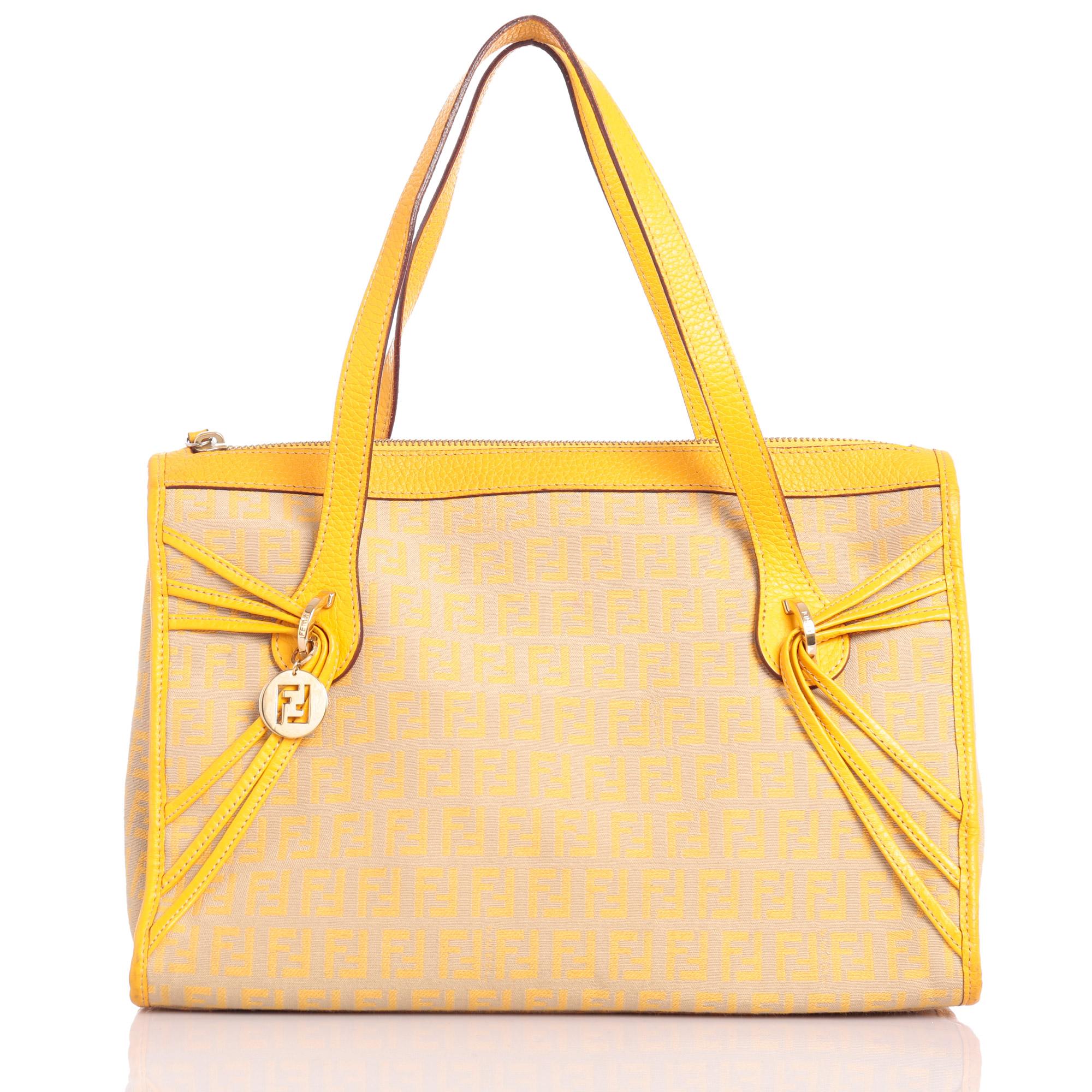 fendi nappa mini peekaboo satchel yellow 96198 new product e59c7 ... 7b595e79c7be9