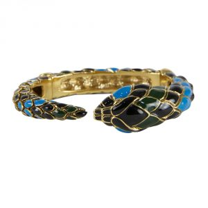 Shop Authentic Luxury accessories My Luxury Bargain ROBERTO CAVALLI SNAKE BANGLE BRACELET