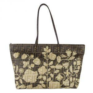 Fendi Limited Edition Spalmati Shopper Tote