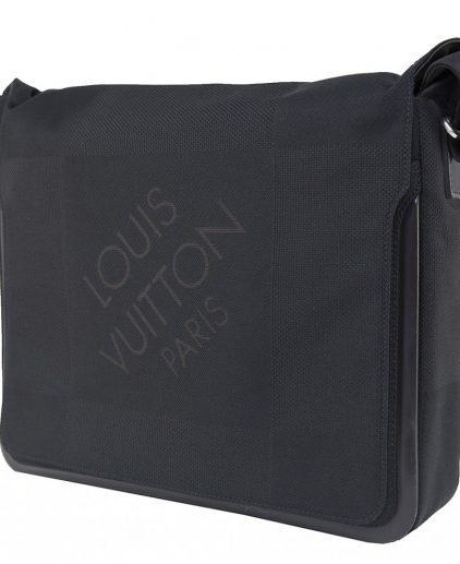 Louis Vuitton Black Geant Messenger Bag