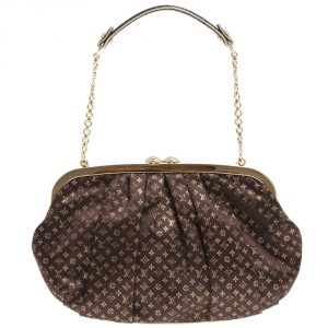 Louis Vuitton Aumoniere Evening Clutch
